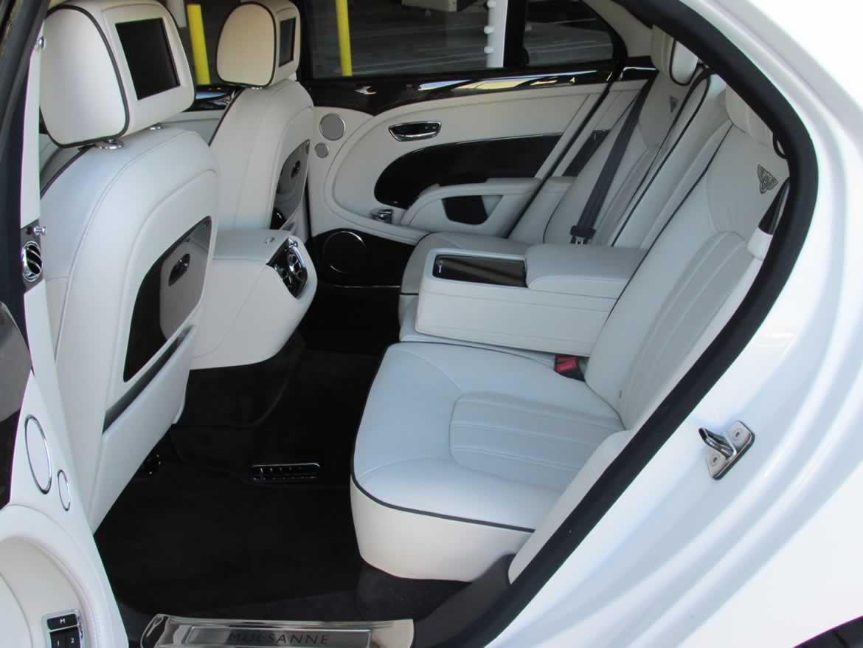 White Bentley Mulsanne Hire Limos In Essex