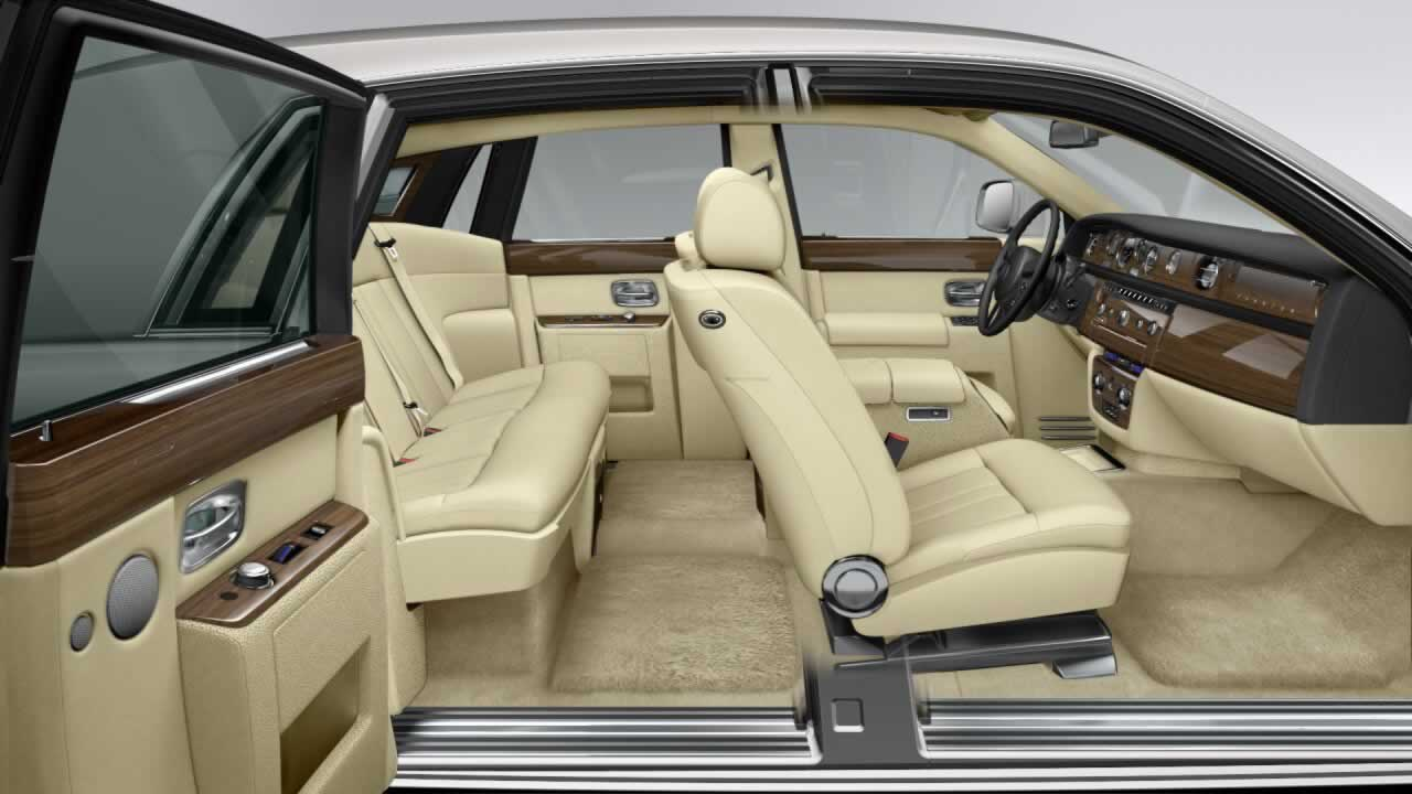Rolls royce phantom hire limos in essex luxury car hire for Rolls royce ghost interior