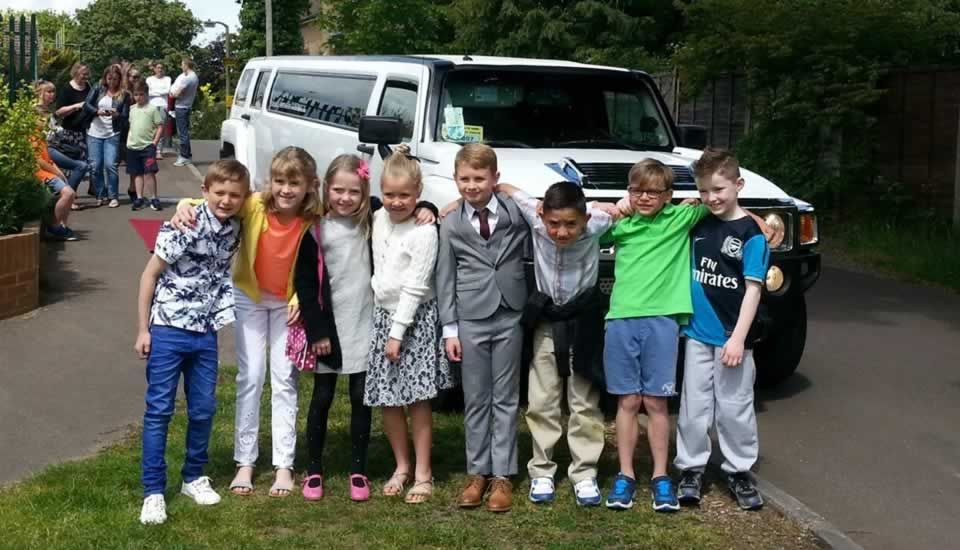 Kids Limo Parties At Frankie Amp Benny S With Limos In Essex