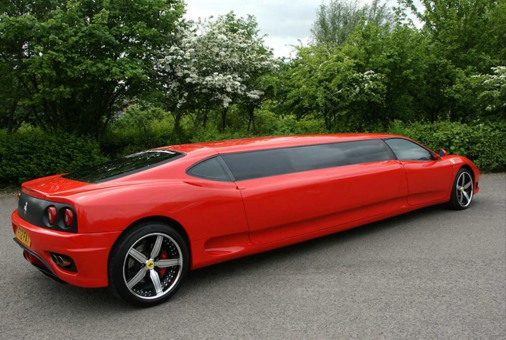 Car Hire Ferrari London