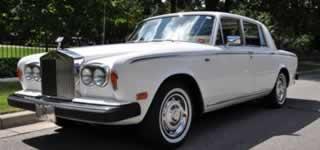 rolls royce silver shadow wedding car hire