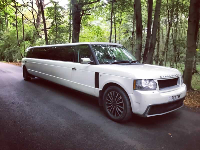 Range Rover Limo Hire Essex Herts and London